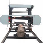 Enmadere las serrerías horizontales portátiles baratas de la banda de la cortadora de la serrería de la banda