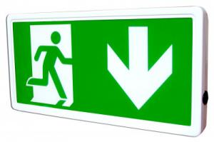China LED recessed emergency exit light on sale