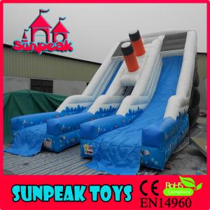 China SL-362 Giant Marine Inflatable Slip And Slide Water Slide on sale
