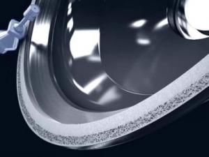 China resin bond diamond peripheral grinding wheel on sale