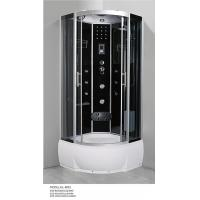 China shower cabin hl-8803 1200*800 Chinese shower room hot sale black Sanitary Ware high tray shower enclosure manufacturer on sale