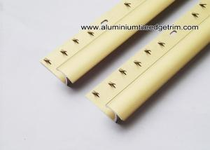 China Matt Gold Aluminium Carpet Splint For Carpet To Ceramic Floor Transition on sale