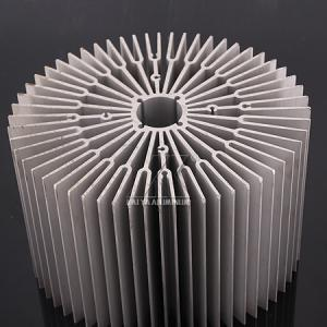 China Mill Finish Heatsink Extrusion Profiles , Aluminum Profile Extrusions 6063 on sale