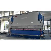 Large Hydraulic Bending Sheet Press Brake CNC 45kw Easy Operation High Productivity