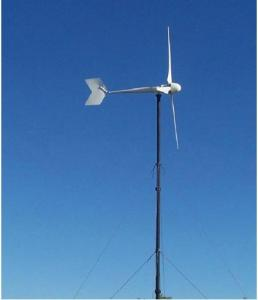 China High Speed 5kw Wind Power Turbine, Eco-Friendly Wind Power Generator For Home Use on sale
