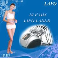 10 pads professional 650nm diode laser zerona lipo laser slimming machine