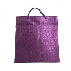 China Shopping Packaging Custom Printed Paper Gift Bags Offset Printing For Clothes on sale