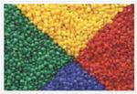 Masterbatch plástico da cor do pigmento vermelho alto da dispersão