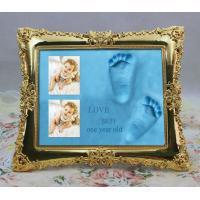 High quality baby hand print desktop frame kit