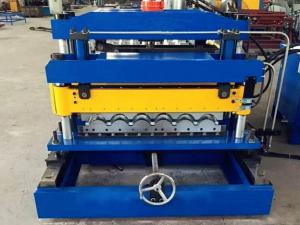 China Customized Metal Roof Tile Roll Forming Machine on sale