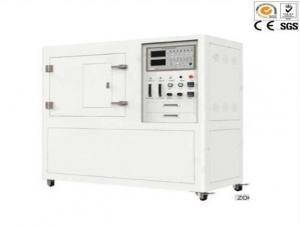 China 4KW Plastic Flammability Testing Equipment , 6.5V GB / T8323.2 Vertical Burn Test on sale