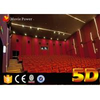 IMAX Film 4d Movie Theater 2 To 200 Seats With Motional Movement In Large Scale Theme Park