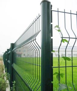 China Wire mesh fence. pvc coated iron picket fence.Hot dip galvanized fence netting on sale