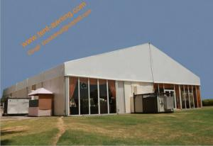China Fireproof Assembled Mobile Aluminum Ceremony Party Tent Wind Resistant Event Marquees on sale