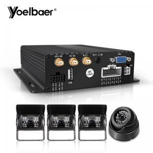 China 1080P AHD Mobile DVR System Real Time G Sensor 3G 4G SD Mini Car Security CMSV6 on sale