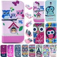 China Durable Floral Wallet Leather Stand Cell Phone Flip Case For HTC Desire 500 on sale