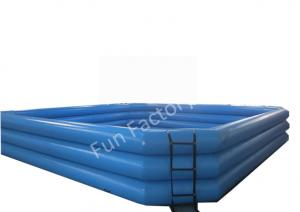 China Blue Adult Inflatable Water Games For Water Balls Customized on sale