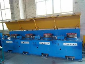 China flux cored welding wire drawing machinery manufacture factory on sale