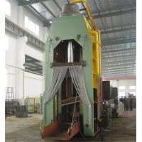 Feeding Open Large Hydraulic Metal Shear for Scrap MS - 500 10 - 15 Tons / Hr