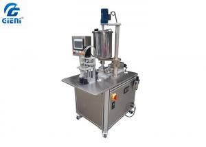 China 2 Nozzles Color Cosmetic Air Cushion CC Filling Machine , Easy To Operate on sale