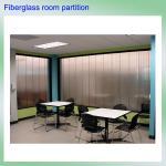 O isolamento de alta qualidade do som da fibra de vidro da técnica de Alemanha reforçou separações decorativas da parede do projeto de pouco peso