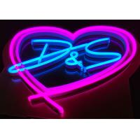China Marriage party birthday logo Custom  Made  Neon Signs fashion led lighting on sale