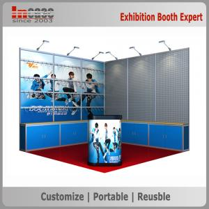3x3 Standard Exhibition Booth Design For Sale 10x10ft