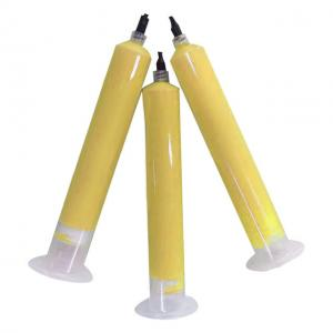 China 2W/mK yellow Soft Silicone Thermally Conductive Putty Gap Filler  2.6 g/cc 200V/mil For Radiating Modules on sale