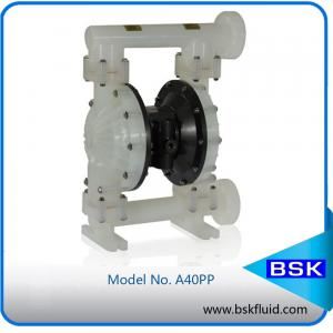 China Air Operated Double Diaphragm Pump / Twin Diaphragm Pump Butterfly Valves on sale