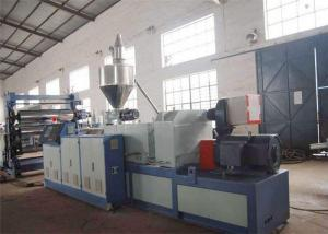 China PVC Plastic Sheet Extrusion Line with PVC Decorative Sheet Making Machine on sale