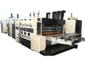 China 1224 Corrugated Cardboard Printing Slotting Die Cutting Machine Folder Gluer Inline on sale