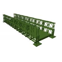 China 200 Type Bailey Bridge With TSR (Triple Row Single Layer reinforced) on sale
