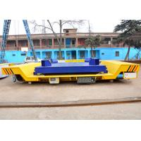 China High temperature electric driven steel ladle transfer car on curved rail on sale