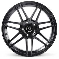 China 1- Piece Gloss Black 19inch Forged Rims 5x108 Ford Fusion Car  Wheels on sale