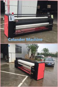 China Fabric Textile Calender Machine Roller Sublimation Heat Transfer Machine on sale