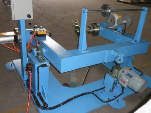 China Pneumatic Fasten Wire Twisting Machine Shaftless Bobbins Active Pay Off Machine on sale