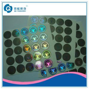 China El laser que corta etiquetas con tintas, seguridad olográfica de encargo etiqueta la impresora on sale