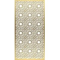 China New design decorative metal perforated panels stainless steel screen for wall panels on sale