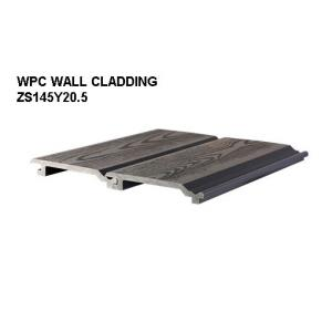 China Anti-scratch UV-resist WPC Wall Panel / Composite wall cladding sidings on sale