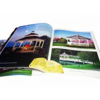 Construction Full color catalog printing For Garden Facility Instruction Book