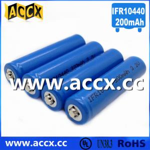 China IFR10440 3.2V AAA size lifepo lithium rechargeable battery on sale