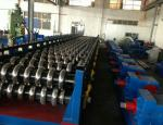 55Kw Hydraulic Power 18 Stations Steel Silo Panel Roll Forming Machine Customized PLC Control System