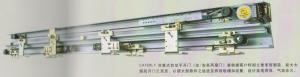 China automatic slide door systems Stable Twin wheel Hanger combined with Digital Switch on sale