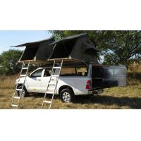Anti UV 4x4 Camping Tents , Rooftop Pop Up Camper Tent With 2.3m Ladder
