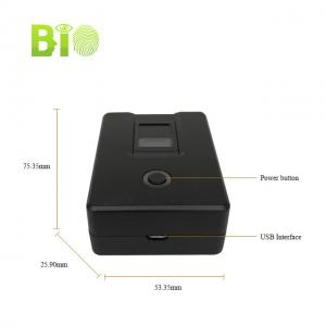 HF4000plus Optical sensor USB Portable Biometric Android Fingerprint