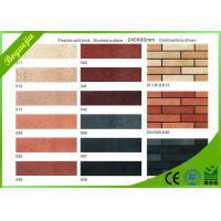 Customised indoor decorative Split Face Brick , rediation free flexible ceramic tile
