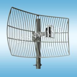 24GHz 19dBi High Gain Square Die Cast Parabolic Grid Wifi Antenna