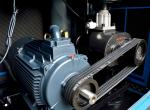 Hydrogen Helium Cng Belt Driven Air Compressor Rotary For Wood Field