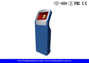 China Vandal-Proof Modern Design Freestanding Touch Screen Kiosk With SAW Touch on sale