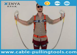 China Adjustable Full Body Harness Fall Protection Equipment on sale
